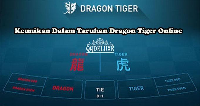 Keunikan Dalam Taruhan Dragon Tiger Online